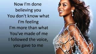Beyonce - Listen Lyrics