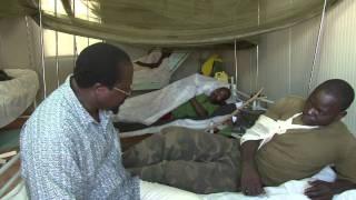 AMISOM DEPUTY HEAD VISITS INJURED SOLDIERS-Video