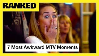 7 Awkward AF Moments from 'Jersey Shore', 'Catfish', 'The Challenge' & More! | MTV Ranked