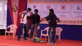 funniest drama on college life musical skit (engineering) IIET DHARMAJ