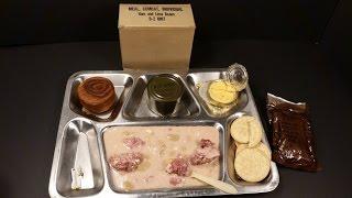 1964 Vietnam C Ration Ham & Lima Beans Vintage MCI MRE Review Oldest Cigarette War Food Tasting