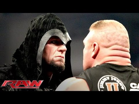 Xxx Mp4 Brock Lesnar Is Surprised By The Return Of The Undertaker Raw Feb 24 2014 3gp Sex