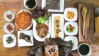 DELICIOUS Korean Vegan Food in Busan, South Korea
