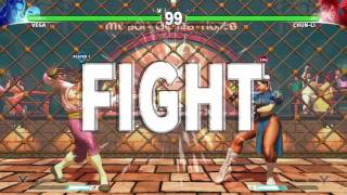 Street Fighter 5: Flamenco Tavern Stage (Vega's SF2 Stage)