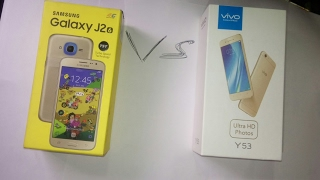Samsung j2 vs Vivo y53 speed test