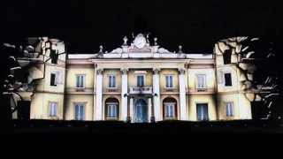 Luca Agnani Studio | Video Projection Mapping | Villa Spalletti (RE) | BMR Red Gala