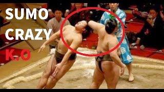 Sumo Wrestling Brutal And Best Knockouts Compilation