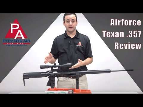 Airforce Texan .357 Review