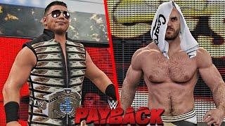 WWE 2K16 Payback 2016 - The Miz vs Cesaro Intercontinental Championship Match!