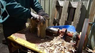 Screw Type Log Splitter DIY