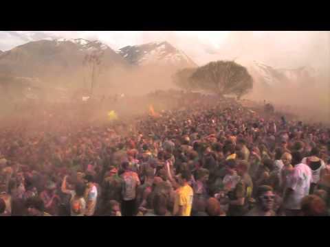 Wold biggest holi festival of colors  gathering in Amercia, saltLake city UTAH