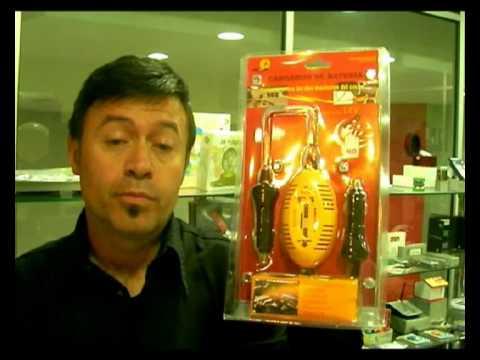 Cargador de bateria para coches Comoqueque