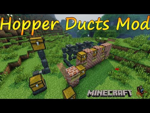 Minecraft 1.7.10 - Hopper Ducts Mod / Español