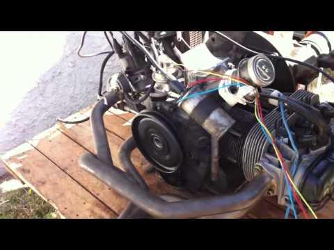 motor escarabajo primer encendido.