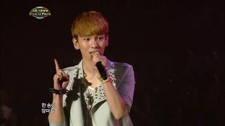 【TVPP】SHINee - Stand By Me, 샤이니 - 스탠바이미 @ SMTOWN in Paris Live