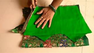Fashion designer cold shoulder cutting on clothes | geeta ladies tailor
