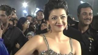 Kajal Agarwal Hot Bottom at At 59th Filmfare Awards 2014
