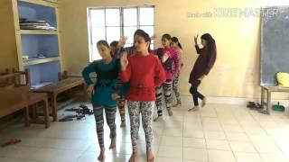 Dhana de garhwali song omkarananda public school devprayag practice performance dance