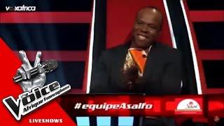 Intégrale Equipe Asalfo | (The Voice Afrique francophone 2016 - GrandShow 1)