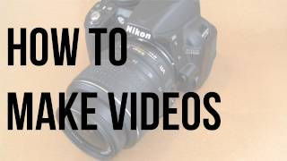 How To Make Videos: Camera, Lighting and Microphone