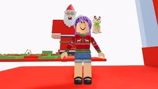 ROBLOX ESCAPE CHRISTMAS OBBY | BAD SANTA | RADIOJH GAMES