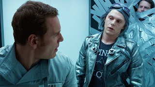 QuickSilver Scene - X-Men: Days of Future Past (2014) Movie Clip HD