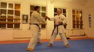 Seiyunchin bunkai - goju-ryu karate - Sheffield Hallam Dojo