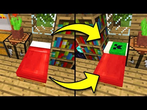 How to Make CUSTOM BEDS in Minecraft Tutorial! (Pocket Edition, PS4/3, Xbox, Switch, PC)