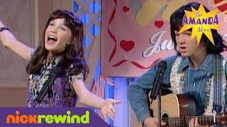 Melody & Thad Sing at a Wedding | The Amanda Show | NickSplat