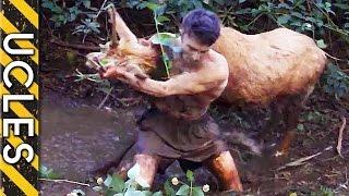 Wild Animals Caught Barehanded