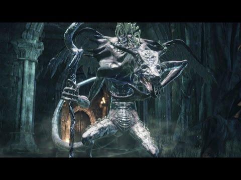 Dark Souls 3: Oceiros, The Consumed King Boss Fight (4K 60fps)