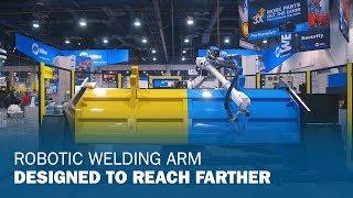 New Robot Arm Designed for Heavy Plate Welding