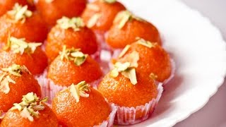 How to Make Delicious Motichoor Ladoo   Indian Sweets Recipes
