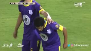 دوري بلس - ملخص مباراة االنصر والوطني في دور ال16 من كأس ولي العهد