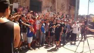 Filmacion RAPEROS UNIDOS de Esteban el As, Xxl irione y Fili wey