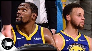 Inside the Warriors' locker room it was like Game 5 was just another loss - Nick Friedell   The Jump
