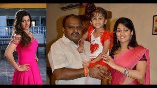 Kumaraswamy Wife Photos  || Actress Radhika Kumaraswamy Family || Radhika Kutty