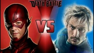 The Flash VS Quicksilver | DEATH BATTLE!
