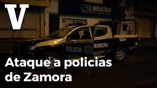Asesinan A Balazos A Policías En Zamora, Michoacán