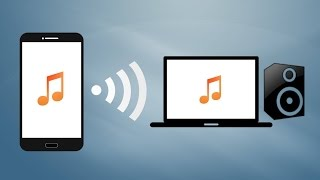 HOW TO Stream Music from your phone to your PC/Mac!