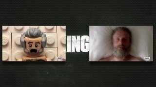 Lego THE WALKING DEAD Saison 8 TRAILER Comparaison