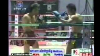 Khmer Boxing, Ot Phuthong Vs. Sen Bunthen