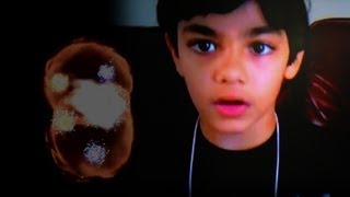 """9-Yr-Old Prodigy Explains """"God Particle"""""""