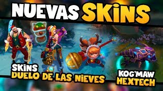 Nuevas Skins: Jinx, Draven, Poppy y Kog'Maw [In Game] Noticias LOL