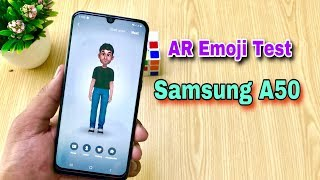SAMSUNG A50 AR Emoji Test - How Its Work Details!