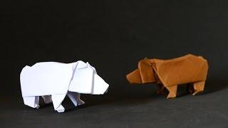 Origami: Bear