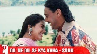 Dil Ne Dil Se Kya Kaha Song | Aaina | Jackie Shroff | Juhi Chawla | Amrita Singh