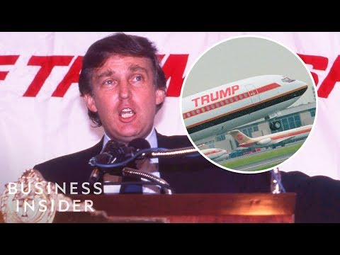 What Happened To Donald Trump's 365 Million Airline