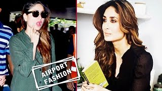 HOT MOMMY! Kareena Kapoor's BEST Airport Looks Till Date