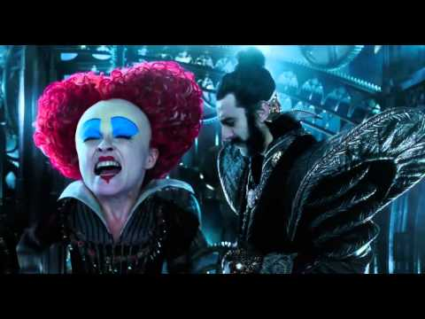 Alice In Wonderland 2 Through the Looking Glass official Grammys trailer 2016 Johnny Depp